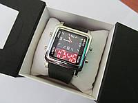 Часы кварц+электроника 1031