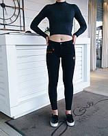 Джинсы Karol американка с вышивкой, стильные женские брюки, шорты, женская одежда , фото 1