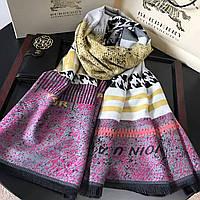 Большой  платок палантин кашемир супер качество 2 цвета