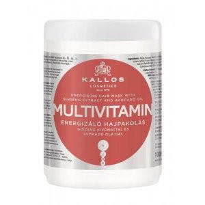 Kallos Multivitamin Энергетическая мультивитаминная маска для волос, 1000 мл