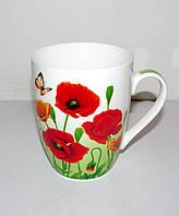Чашка Мак 335 мл Interos (фарфор)