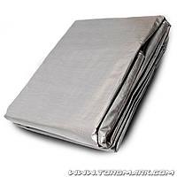 Тент   4 х 6 м, серебро, 140г/м2