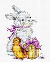 """Набор для вышивания крестом """"Luca-s"""" Пасхальная открытка B1127"""