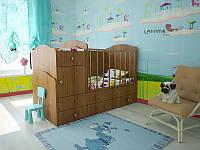 """Детская кровать-трансформер """"Mila"""", Lanami"""