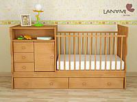 """Детская кровать-трансформер 5 в 1 """"Nola"""", Lanami"""