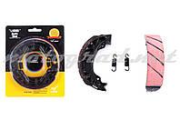 """Колодки гальмівні (барабан) 4T GY6 50-150 (10/12"""" колесо) """"LAONIU"""" (champion)"""