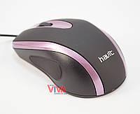 Мышь Havit HV-MS753 USB Black/Purple, фото 1
