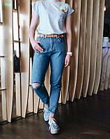Джинсы Jijoys MOM, стильные женские брюки, шорты, женская одежда , фото 1