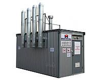 Модульная котельная на твердом топливе Идмар, мощностью 200 кВт