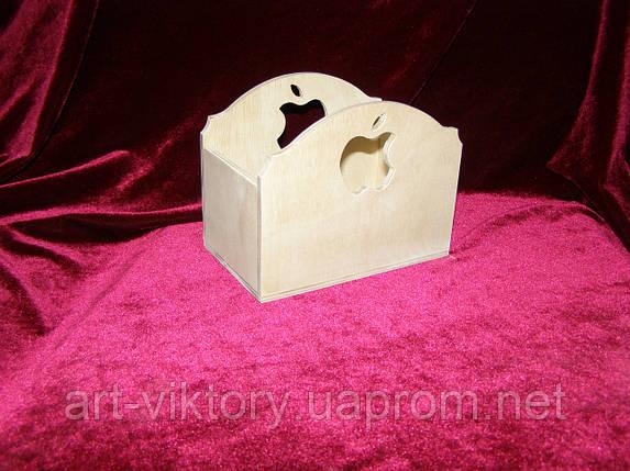 Короб с яблочком (15 х 9 х 12 см), фото 2