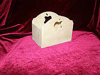 Короб с яблочком (15 х 9 х 12 см)