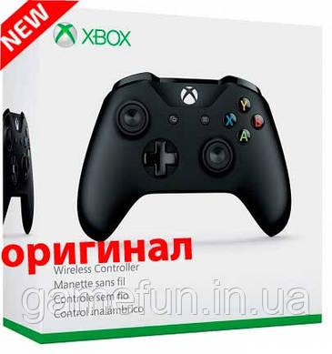 Джойстик Xbox one беспроводной Чёрный (Оригинал)