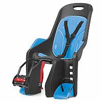 Кресло детское AUTHOR Bubbly maxi FF, серо синее,  на подседельную трубу рамы
