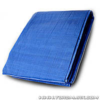 Тент   8 х 10 м, синий, 65г/м2