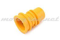 """Патрубок воздушного фильтра Honda DIO AF18/27 """"KOMATCU"""" (желтый)"""