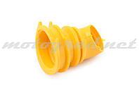 """Патрубок воздушного фильтра Honda DIO AF34/35 """"KOMATСU"""" (желтый)"""