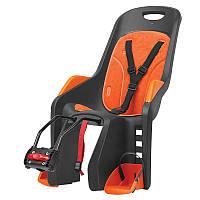 Кресло детское AUTHOR Bubbly maxi FF, серо оранжевое, на подседельную трубу рамы