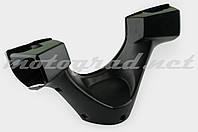 """Пластик Zongshen F1, F50 передний (корпус руля) """"KOMATCU"""""""