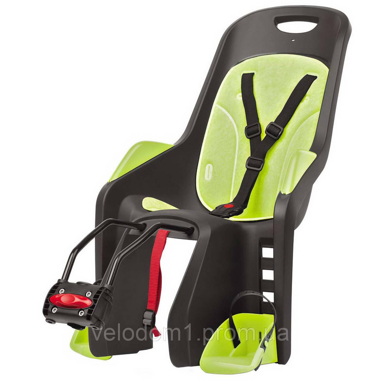 Кресло детское AUTHOR Bubbly maxi FF, серо зеленое, на подседельную трубу рамы