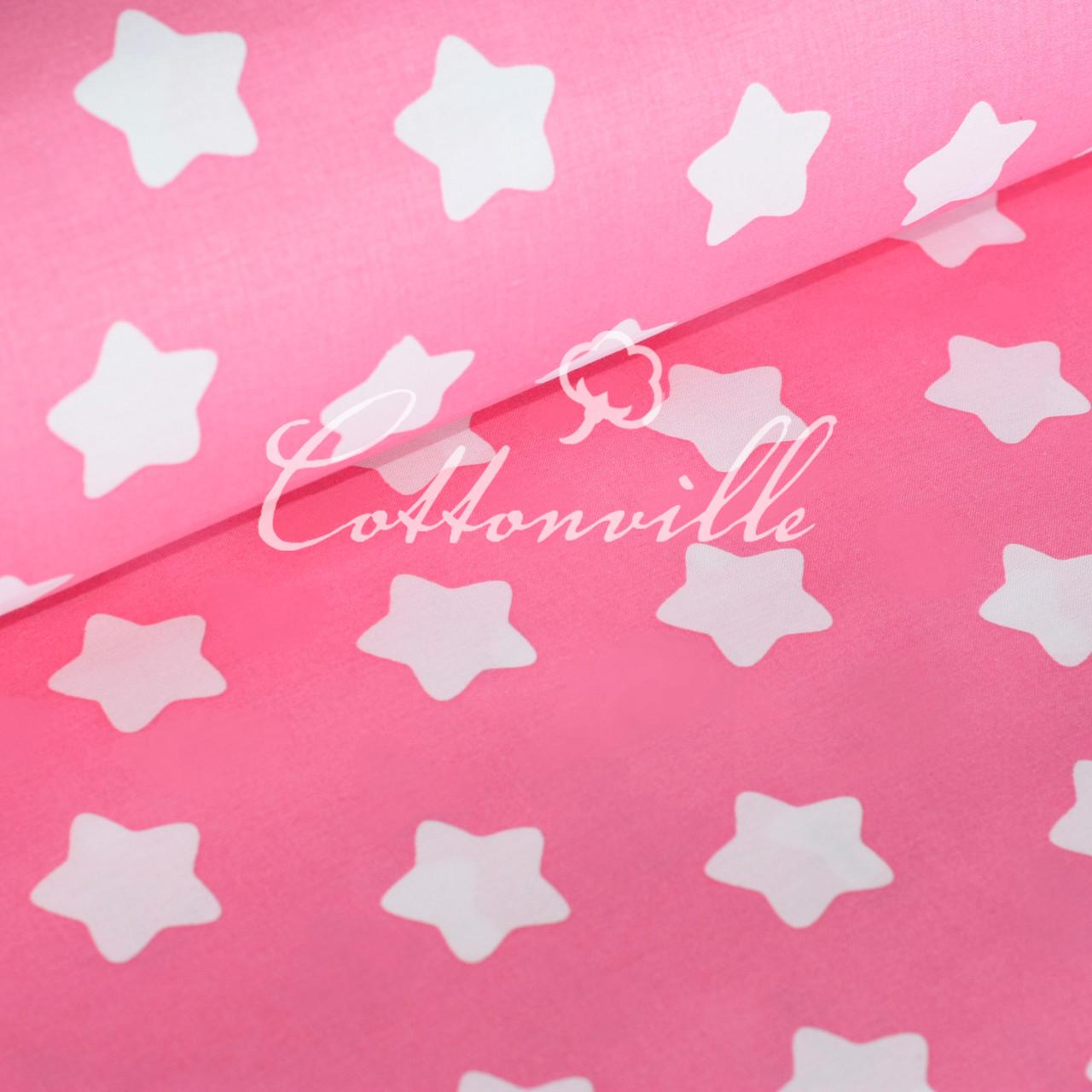 ✁ Відрізи польської бязі Прянички на рожевому (40 мм)