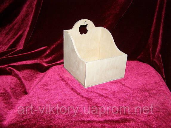 Короб с яблочком (14 х 14 х 15,5 см), фото 2