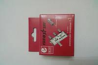 Splitter 3-way Germany + 4 шт. F-разъёма EUROSAT в картонной упаковке