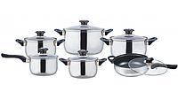 Набор посуды кухонный Frico FRU-732, 12 предметов