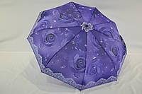 """Женский зонт автомат с цветочным принтом от фирмы """"Lantana""""."""