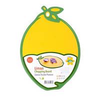 """Дошка обробна для овочів """"Лимон"""" (матеріал: пластик; розмір: 30х24х0,8см) HOBBY LIFE, Туреччина, арт. 041351"""