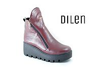 Кожаные ботинки (Нат.мех)