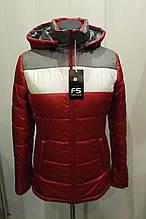 Куртка женская FS красная р 44