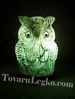 Соляная лампа - Сова (5,5 кг)