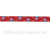 Жаккардовая тесьма РУМЯНЫЕ МАТРЁШКИ, ширина 16 мм, 50 см