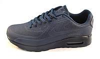 Кроссовки мужские  Nike Air Max 90 синие (найк аир макс)(р.41,44,45,46)