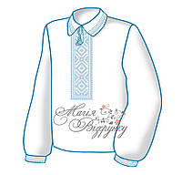 Заготовка детской вышиванки / рубашки / сорочки для мальчика Х-009 (М-009)