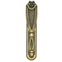 Ручка капля на подложке классика URB-22-321 античное золото