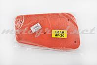 Элемент воздушного фильтра Honda LEAD AF20/HF05 (поролон с пропиткой) (красный)