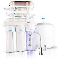 Фильтр для воды Leader Standart RO-6 Bio - система обратного осмоса с минерализатором и биокерамикой, фото 1