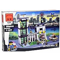 Конструктор Brick 129 Полицейский участок, 589 деталей