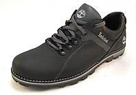 Туфли мужские TIMBERLAND кожаные, черные (р.42,43)