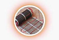 Стеклосетка для укладки проводого теплого пола SSA-0808-125 (50) серая, фото 1