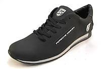 Туфли мужские PORSCHE DESIGN  кожаные, черные (р.41)