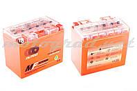 Аккумулятор 12V 19А гелевый (174x100.4x153.3 мм, оранжевый, mod:YB 16L-BS) OUTDO