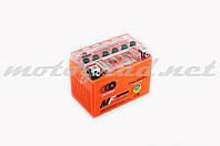 Аккумулятор 12V 4А гелевый OUTDO (114x71x88 мм, оранжевый) (#GML)