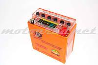 Аккумулятор 12V 5А гелевый (высокий) OUTDO (120x60x130 мм, с индикатором заряда, mod:12N5-3B) (#RBR)