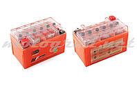 Аккумулятор 12V 7А гелевый OUTDO (150x85x95 мм, оранжевый, mod:YTX7A-BS)