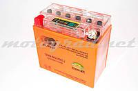 Аккумулятор 12V 9А гелевый OUTDO (136x76x134 мм, с индикатором заряда, mod:12N9-4B) (#RBR)