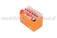 Аккумулятор 12V 9А гелевый OUTDO (152x88x106 мм, оранжевый, mod:YTX9-BS)