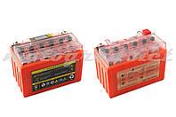 Аккумулятор 12V 9А гелевый OUTDO (152x88x106 мм, оранжевый, с индикатором заряда, вольтметром)
