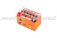 Аккумулятор 12V 8,6А гелевый OUTDO (150x85.8x93.6 мм, оранжевый, mod:YTZ 10S)